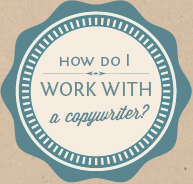 What can a copywriter help with?