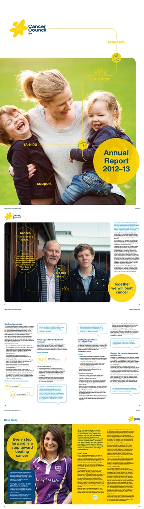 Annual Report Cancer Council SA