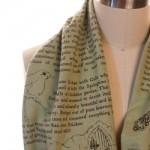 secret garden scarf gift idea for word nerds